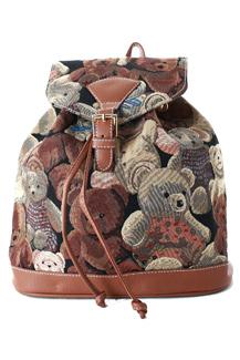 Рюкзак с мишками из гобелена винкс рюкзак опт